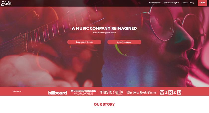 Epidemicsound-Background-Music-Sites