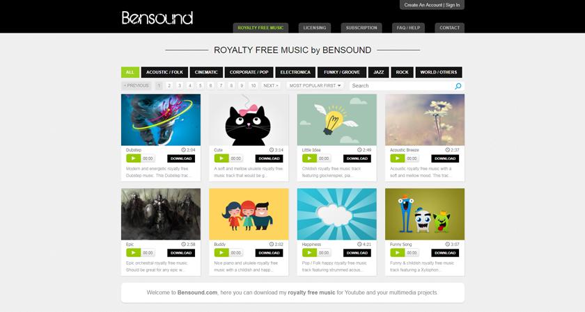 Bensound-Public-Domain-Music
