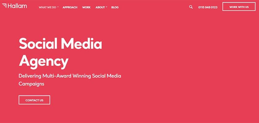 Top-Social-Media-Agency-London-Nottingham-For-Startups-Hallam-Agency