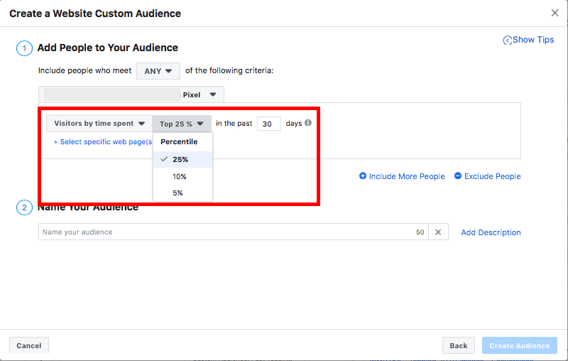 Create A Website Custom Audience Facebook