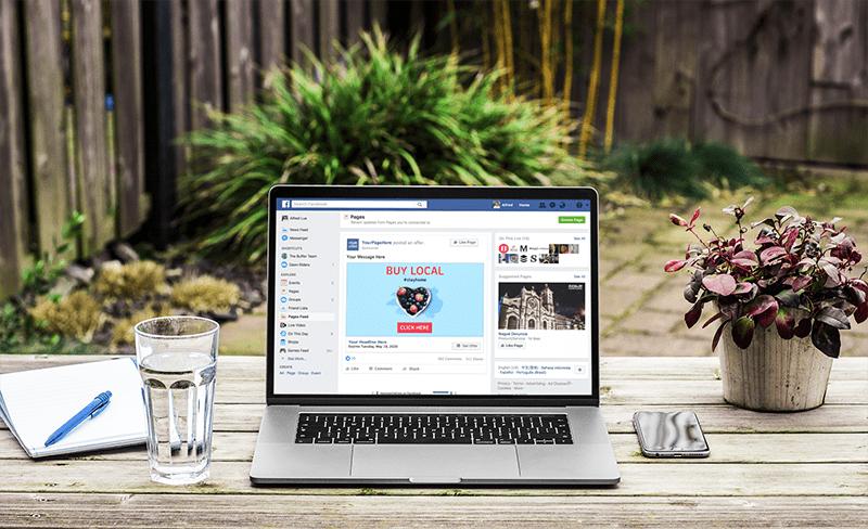 Social Media Ads For Relaunching Brand