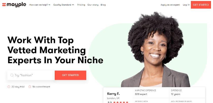 Mayple Social Media Marketing Agencies For Startups