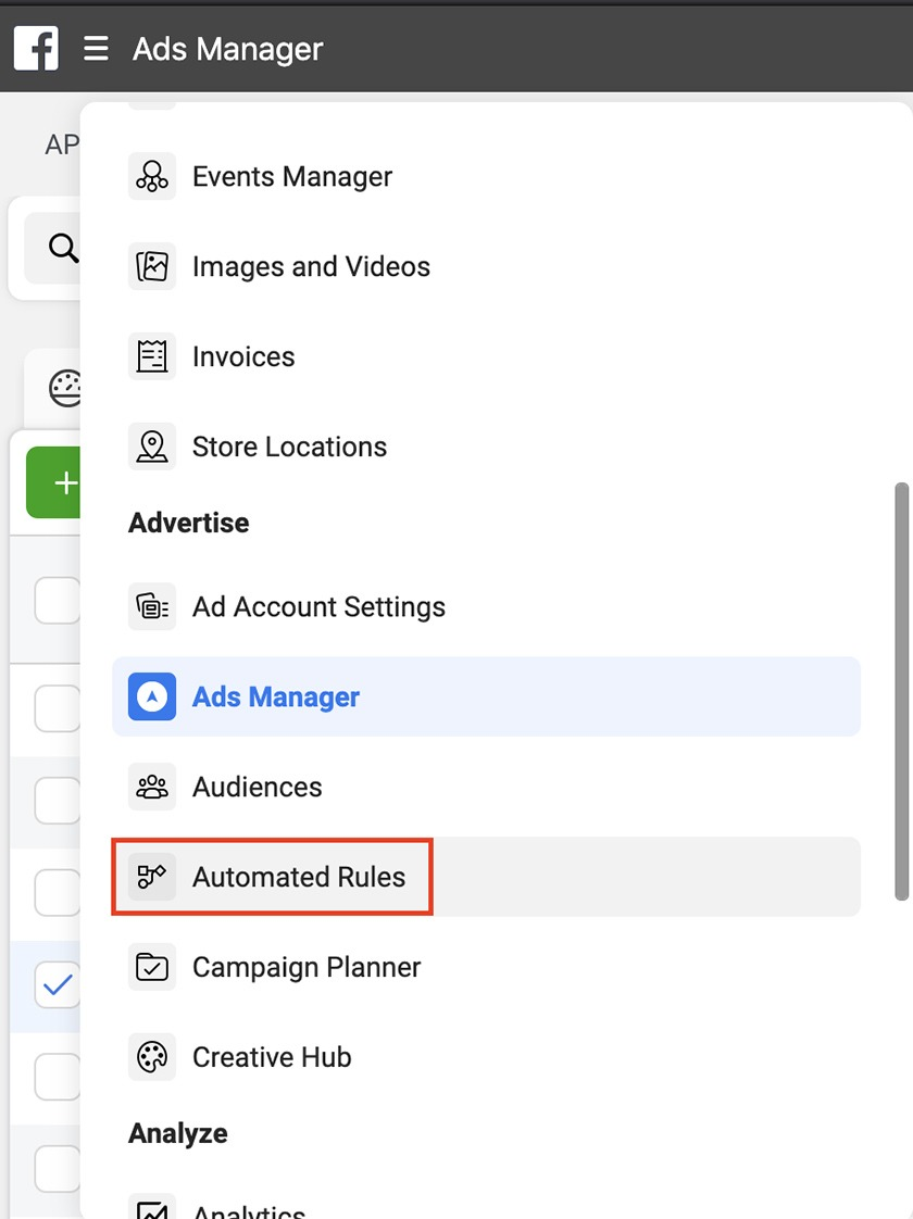 Facebook-Ads-Manager-Automated-Rules