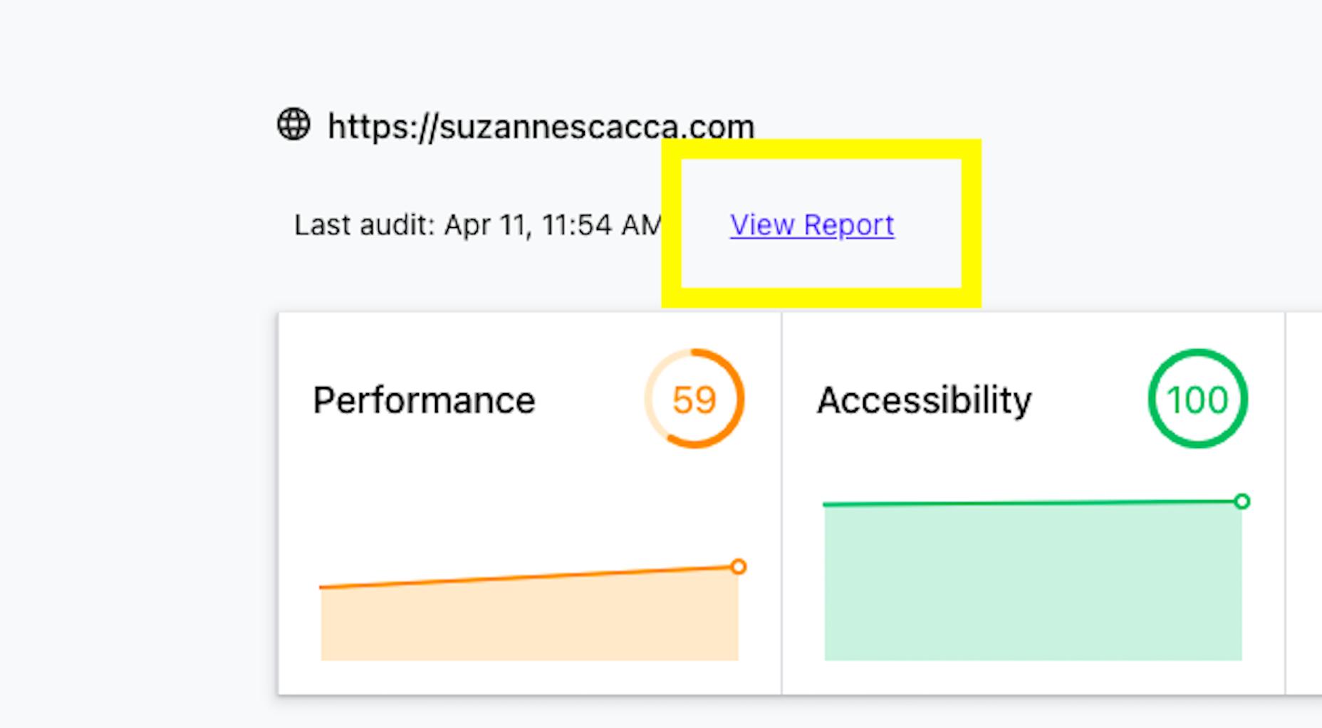 Access The Core Web Vitals Report