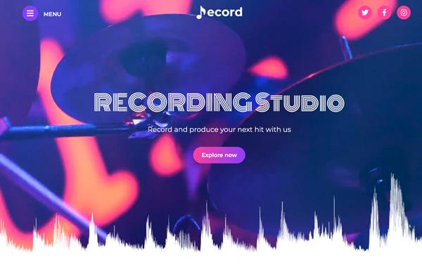 Recording Studio Cp